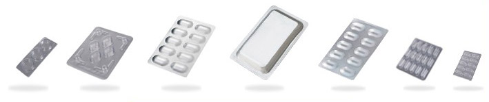 different types of blister packaging
