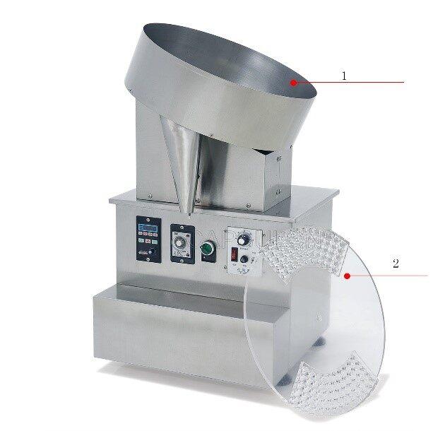HD-100 capsule filling machine Detail diagram