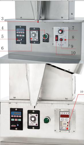 HD-100 capsule filling machine Detail diagram2