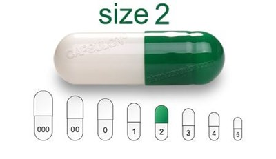 Picture for category Size 2 enteric capsules