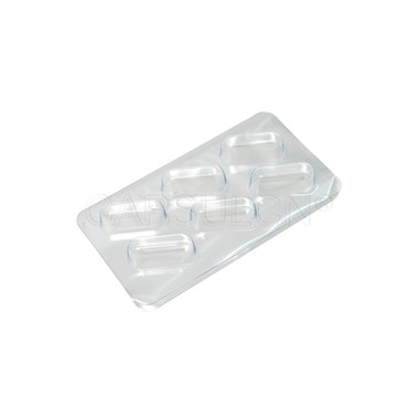 Picture of Size 0 Capsule Blister Packing Sheet with 6 holes